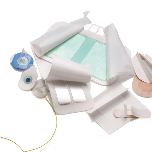 Антиадгезионные материалы для пластырей и медицины
