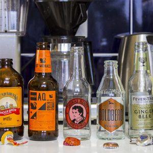 Самоклеящаяся этикетка для напитков и алкогольной продукции