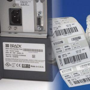 Самоклеящаяся этикетка для электроники и товаров длительного пользования