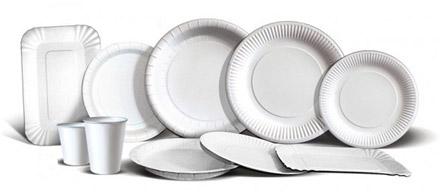 Ламинированный картон с ПЕ для производства одноразовой посуды